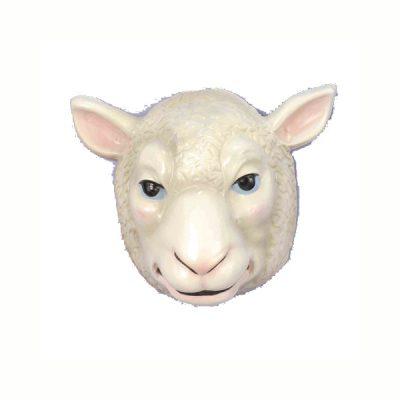 Plastic Sheep Mask