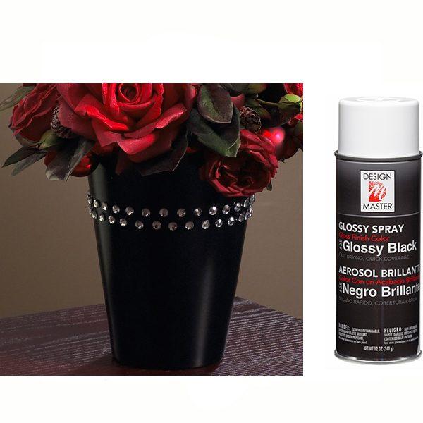 Glossy Black Design Master Spray Paint