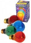 25 Watt Single Transparent Colored Light Bulb