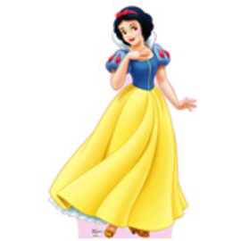Snow White Cardboard Stand Up