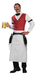 Bartender Of The Old West Halloween Costume