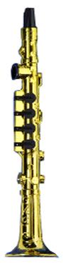 Plastic Clarinet Kazoo