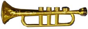 Gold Trumpet Kazoo