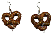 Pretzel Earrings