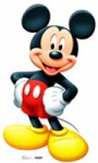 Mickey Mouse Life Size Cut Out
