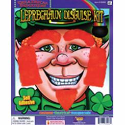 Leprechaun Red Facial Hair