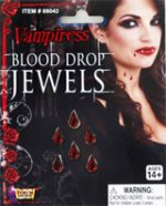 Vampiress Blood Drop Jewels