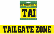 """Tailgate Party Zone """"Crime Scene"""" Tape Playoff Super Bowl Party"""