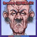 Costume Cranky Old Man Hair Kit