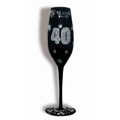 Birthday Champagne Flute 40, 50, 60, or 70