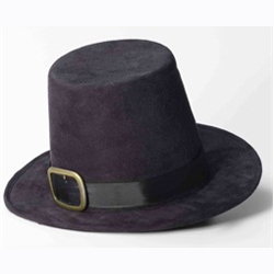 c052287fced Buy Pilgrim Top Hat with Buckle Deluxe Colonial Hat - Cappel s
