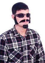 Costume Facial Hair Disguise Kit