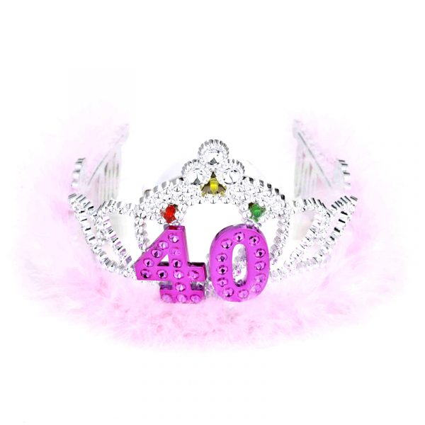 Light Up Battery Operated Flashing Tiara Age 40