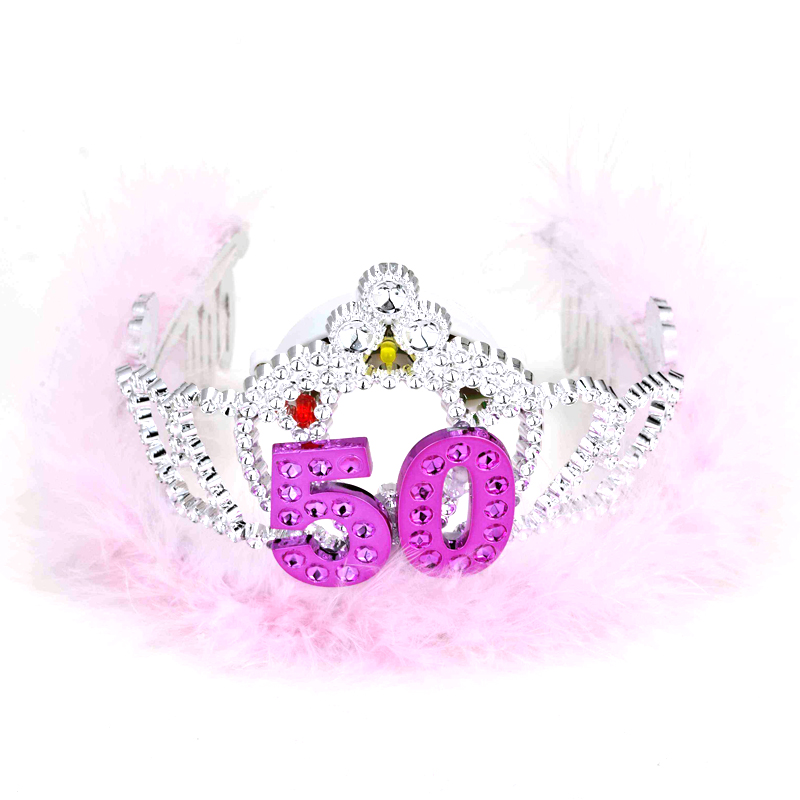 Light Up Battery Operated Flashing Tiara Age 50
