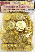Ancient Pirate Plated Plastic Coins