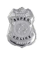 "3"" Costume ""Super Police"" Badge"