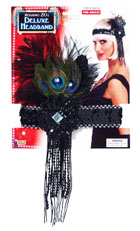 Costume Deluxe Feathered Flapper Headband