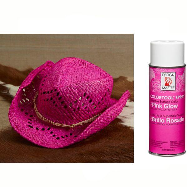 Pink Glow Design Master Spray Paint