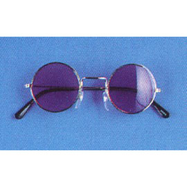 Hippie Glasses - Available in clear lens or pink lens