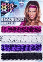 Elastic Sequin Headband