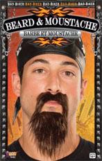 Biker Beard and Moustache