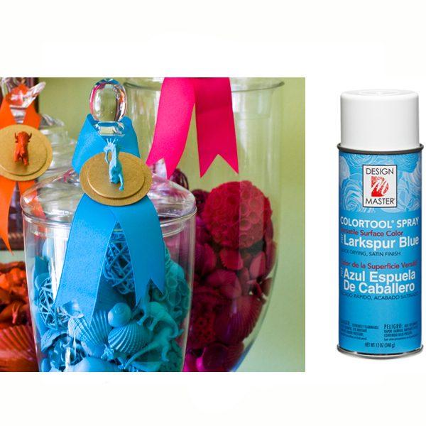 Larkspur Blue Design Master Spray Paint