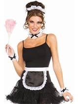 5 PC French Maid Accessory Kit