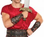 Costume Roman Arm Guards Armor