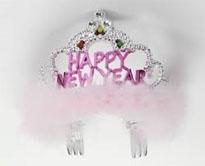 Happy New Year Flashing Tiara