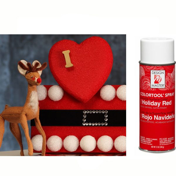 Holiday Red Design Master Spray Paint