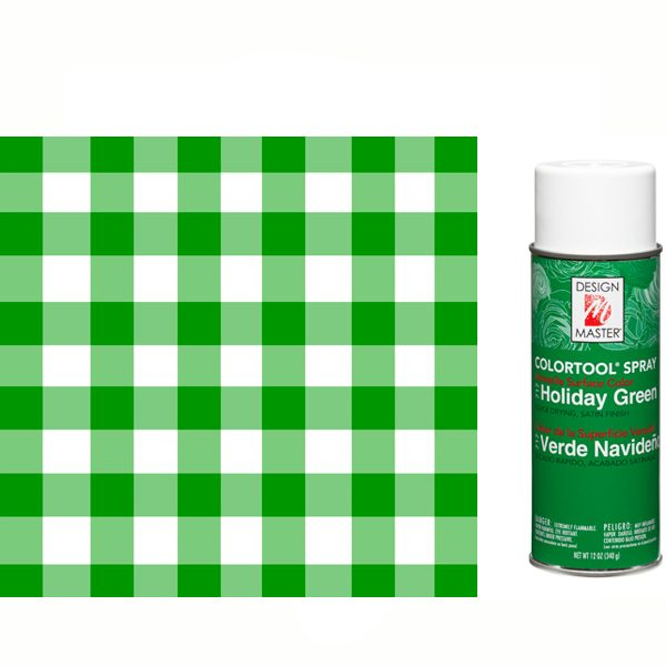 Holiday Green Design Master Spray Paint
