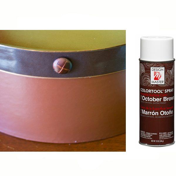 October Brown Design Master Spray Paint