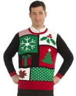 Christmas Patchwork Ugly Sweater