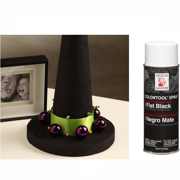 Flat Black Design Master Spray Paint