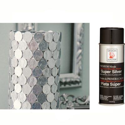 Super Silver Design Master Spray Paint