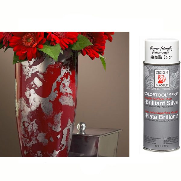 Brilliant Silver Design Master Spray Paint