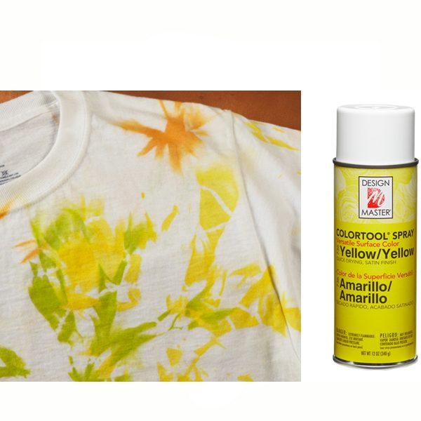 Yellow Design Master Spray Paint