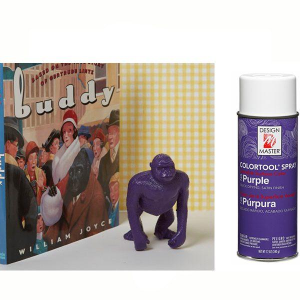 Purple Design Master Spray Paint