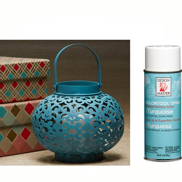 Turquoise Design Master Spray Paint