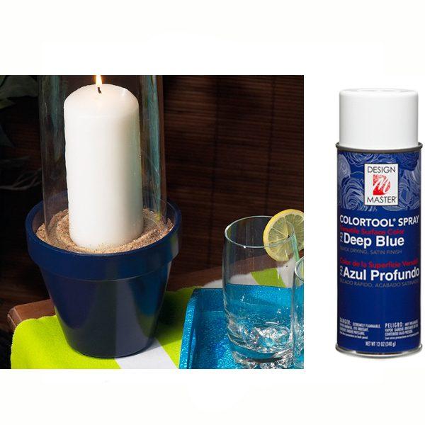 Deep Blue Design Master Spray Paint