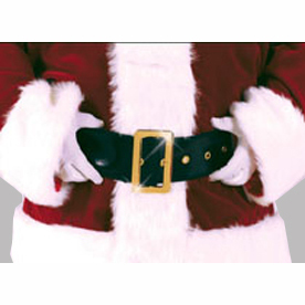 "61"" pleather Santa belt"