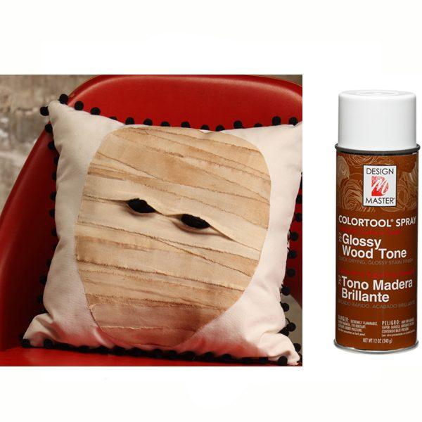 Glossy Wood Tone Design Master Spray Paint