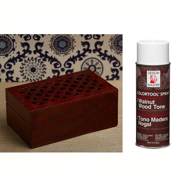 Walnut Wood Tone Design Master Spray Paint