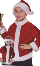 Santa Jacket and Hat Set