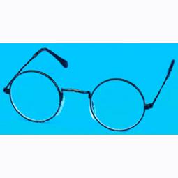 Round lens eyeglasses
