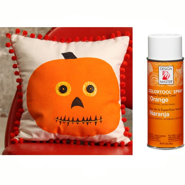Orange Design Master Spray Paint