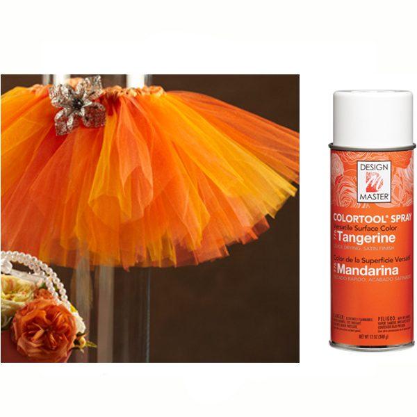 Tangerine Design Master Spray Paint