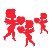 Packaged Cupids - 3 Sizes - Red