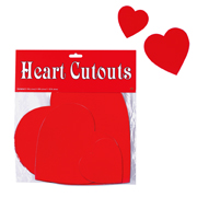 Red Heart Cut Outs