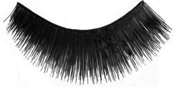 Eyelashes Black short Thick Human Hair - Kara